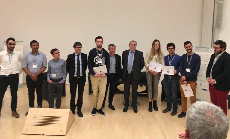 amaury dubois lauréat du premier prix au colloque innovation et agriculture