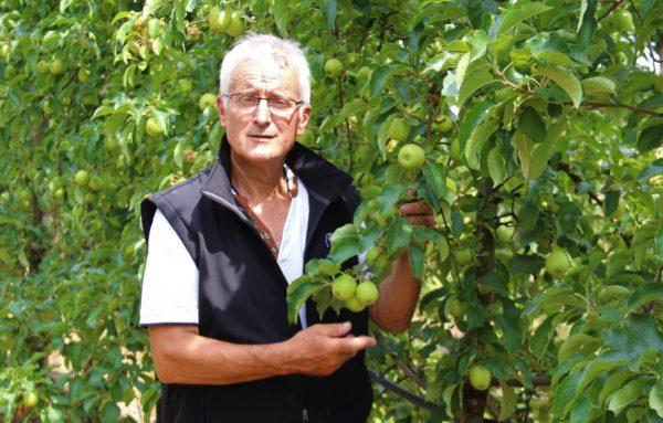 la ferme morille-luneau utilise les tensiometres weenat pour piloter l'irrigation de son verger