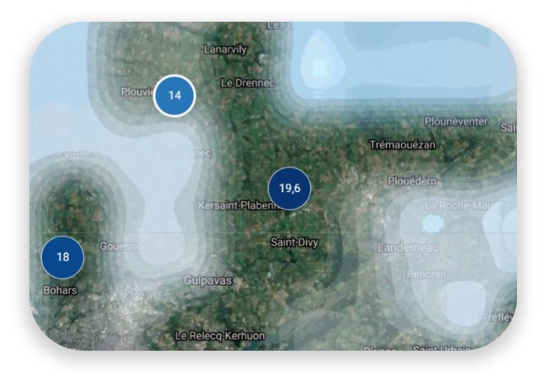 Un radar de pluie pour les professionnels de l'agriculture
