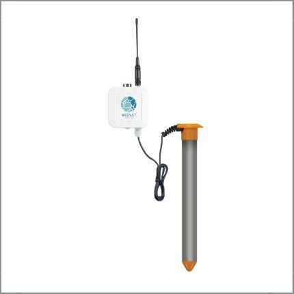 Sonde capacitive connectée : Teneur en eau volumique, Température du sol - Plusieurs profondeurs disponibles