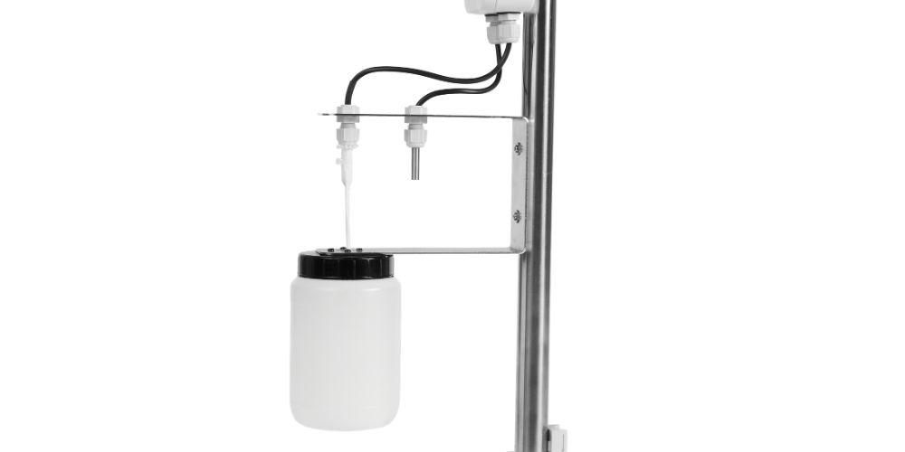 Le capteur gel est équipé de sonde pour mesurer la température humide et la température sèche
